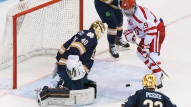 NCAA Hockey 2017 - Notre Dame vs Boston University